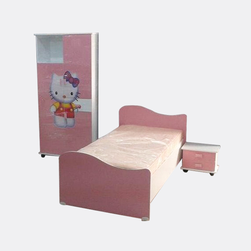 l art du bureau chambre d 39 enfant hello kitty tunisie. Black Bedroom Furniture Sets. Home Design Ideas
